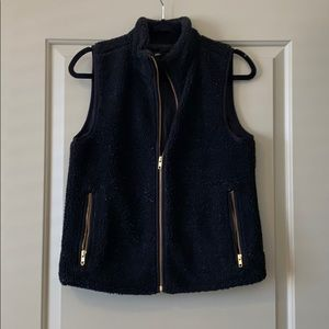Jcrew Fur Vest